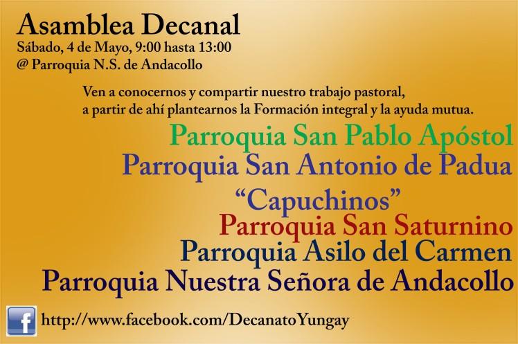 Asamblea Decanal