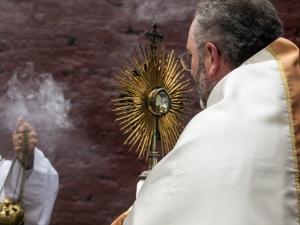 Parroquia Nuestra Señora de Andacollo se realizará su procesión de Corpus Christi al concluir la misa de las 11:00 horas el día domingo, 2 de junio.