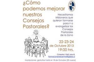Curso Consejo Pastoral
