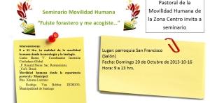 Seminario, 20 de octubre