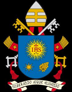Escudo del Papa Francisco