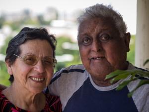 Margarita Aedo y Raúl Lopez