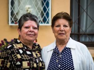 Luisa y Ana María Pinto