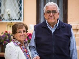 Rosa Muñoz y Jaime Gomez, coordinador