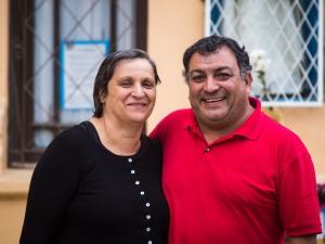 Marta Valenzuela y Sergio Bravo
