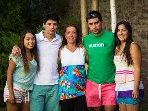 Susana y sus hijos