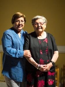 Clara Torres y su madre, Clara Ormeño