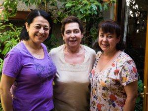 Iris Fredes, Iris Hormazabal, Janet Fredes