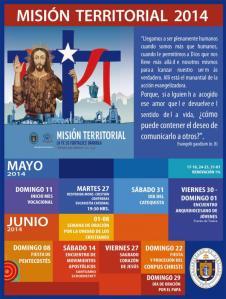 La Misión Territorial en Mayo y Junio.