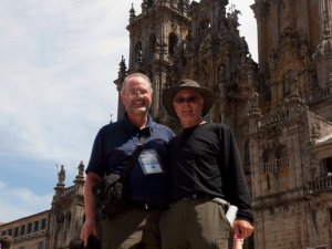 Mi padre y yo al final en 2010.