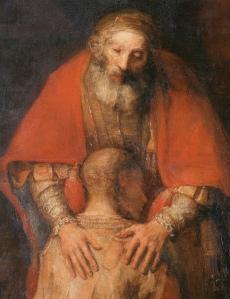 Retorno del Hijo Pródigo por Rembrandt