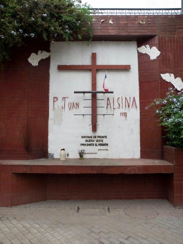 Altar en Puente Bulnes