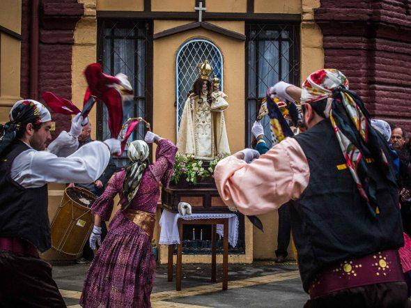 Bailes Chinos a la virgen