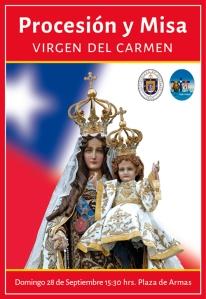 Virgen del Carmen afiche_2014